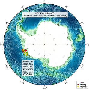 Special Call for Applications - IODP Expedition 379: Amundsen Sea West Antarctic Ice Sheet History