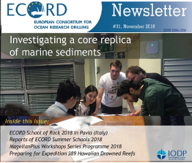 ECORD Newsletter #31 - November 2018